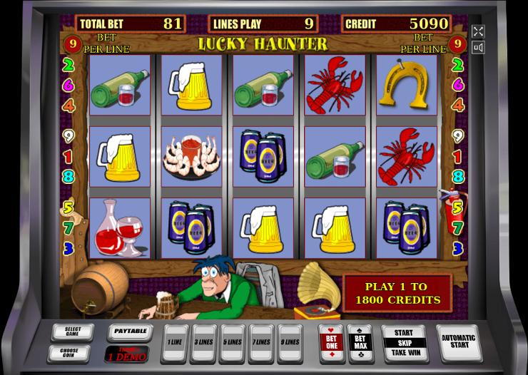 Играй на официальный сайт Вулкан Делюкс в игровой автомат Lucky Haunter