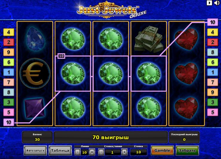 Игровой автомат Just Jewels Deluxe - испытай свою удачу и выигрывай в Вулкан 24 казино