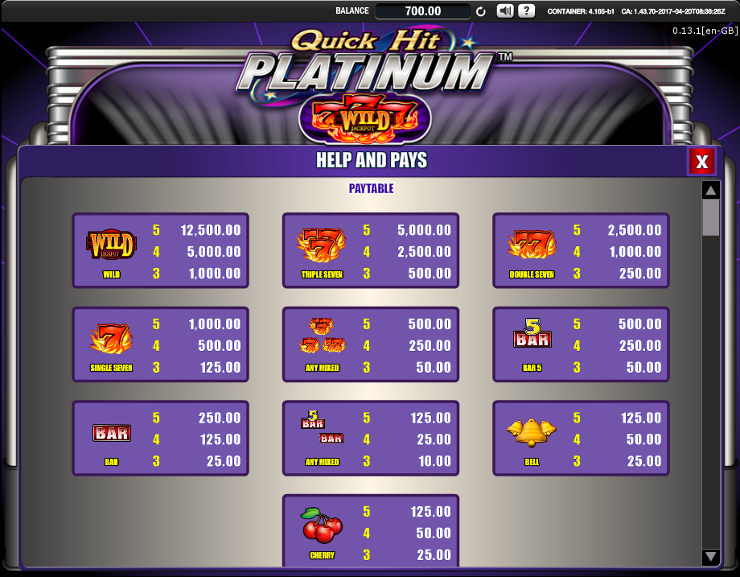 Игровой автомат Quick Hit - прогрессивный джекпот в онлайн казино Вулкан