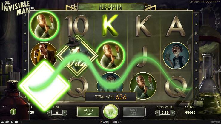 Игровой автомат The Invisible Man - в казино Азино 777 - как вывести деньги быстро узнай