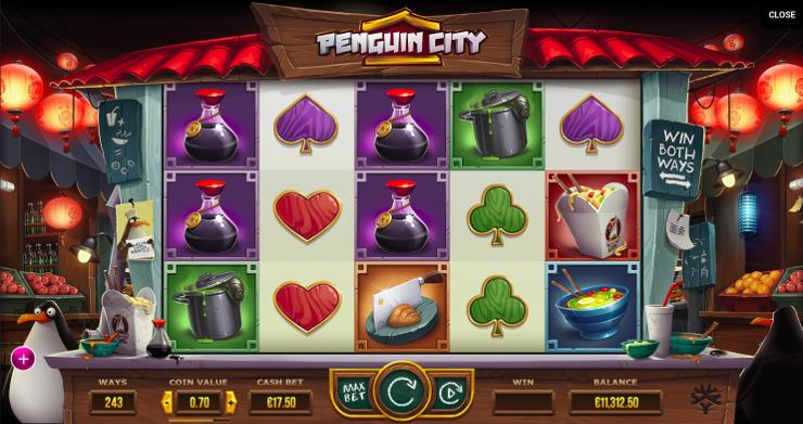 Игровой автомат Penguin City - в казино Вулкан онлайн играй и выиграй регулярно