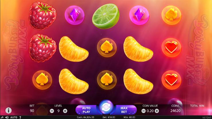 Игровой автомат Berryburst Max - выиграй в казино Вулкан, регистрация быстрая за 10 секунд