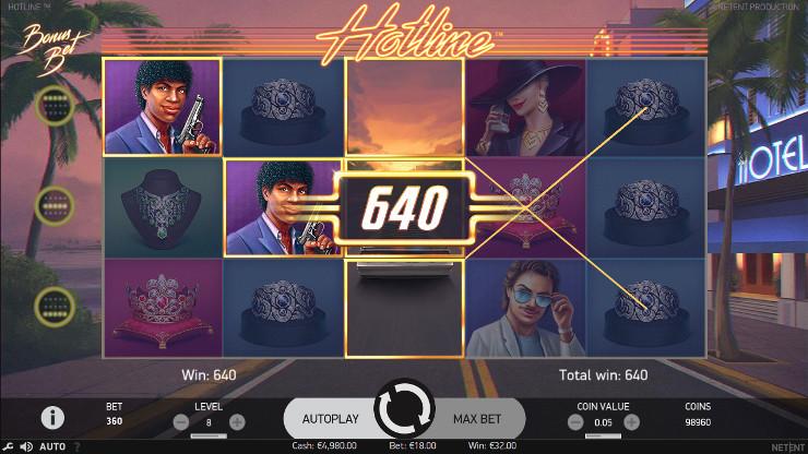 Игровой автомат Hotline - побеждай в слотах от НетЕнт в казино Вулкан 24 онлайн