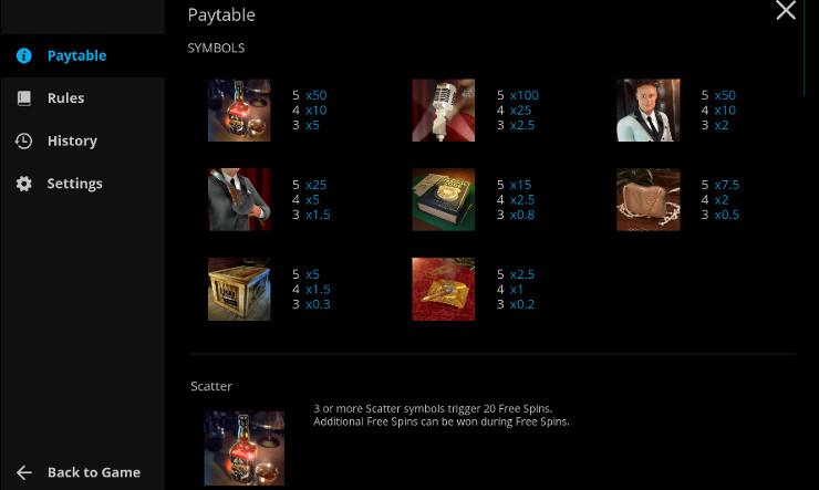 Игровой автомат Prohibition - выиграй в Адмирал Х казино, за регистрацию получай бонусы