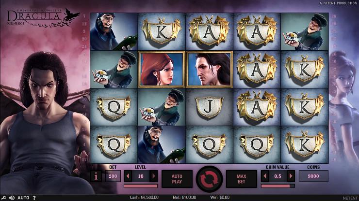 Игровой автомат Dracula - выиграй на официальном сайте Эльдорадо казино