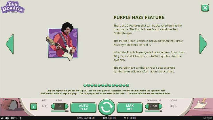Игровой автомат Jimi Hendrix - в казино Вулкан Старс вход и регистрация быстрая