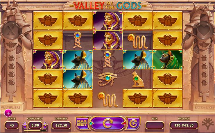 Игровой автомат Valley of The Gods - в Джойказино онлайн казино попробуй удачу