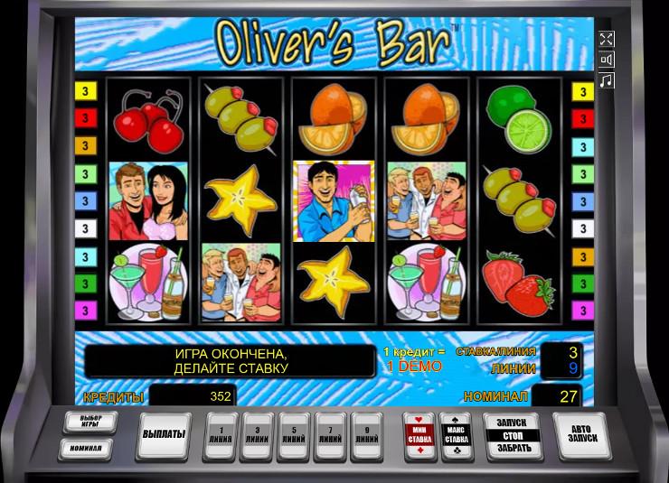 Слот Oliver's Bar - скачать Вулкан Платинум казино приложение, играй в автоматы Новоматик