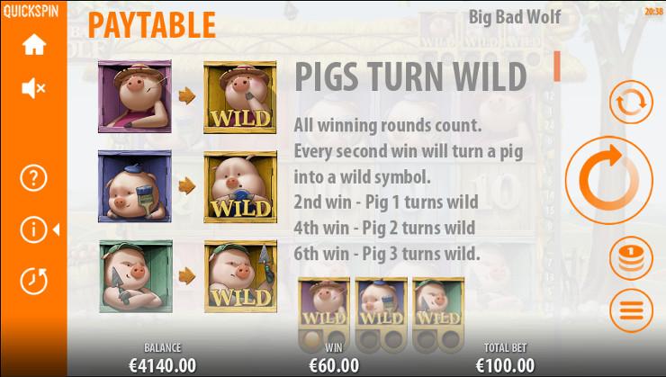 Игровой автомат Big Bad Wolf - в онлайн казино Вулкан почувствуй настоящий азарт