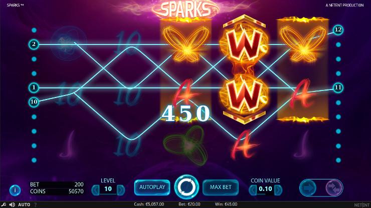 Игровой автомат Sparks - по крупному выиграй в Джойказино казино