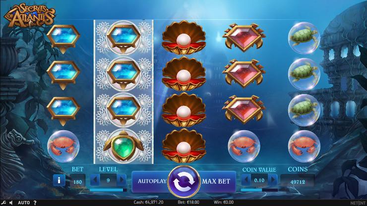 Слот Secrets of Atlantis - скачать Вулкан 24 казино и побеждай